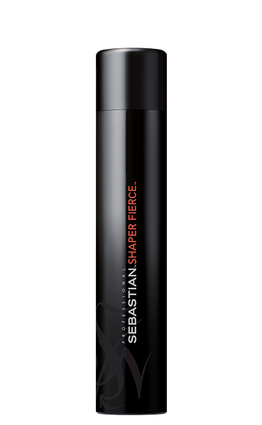 shaper fierce finishing hair spray bottle